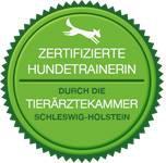 Zertifizierung als Hundetrainerin Tierkammer Schleswig-Holstein